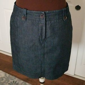 Trina Turk Denim Skirt